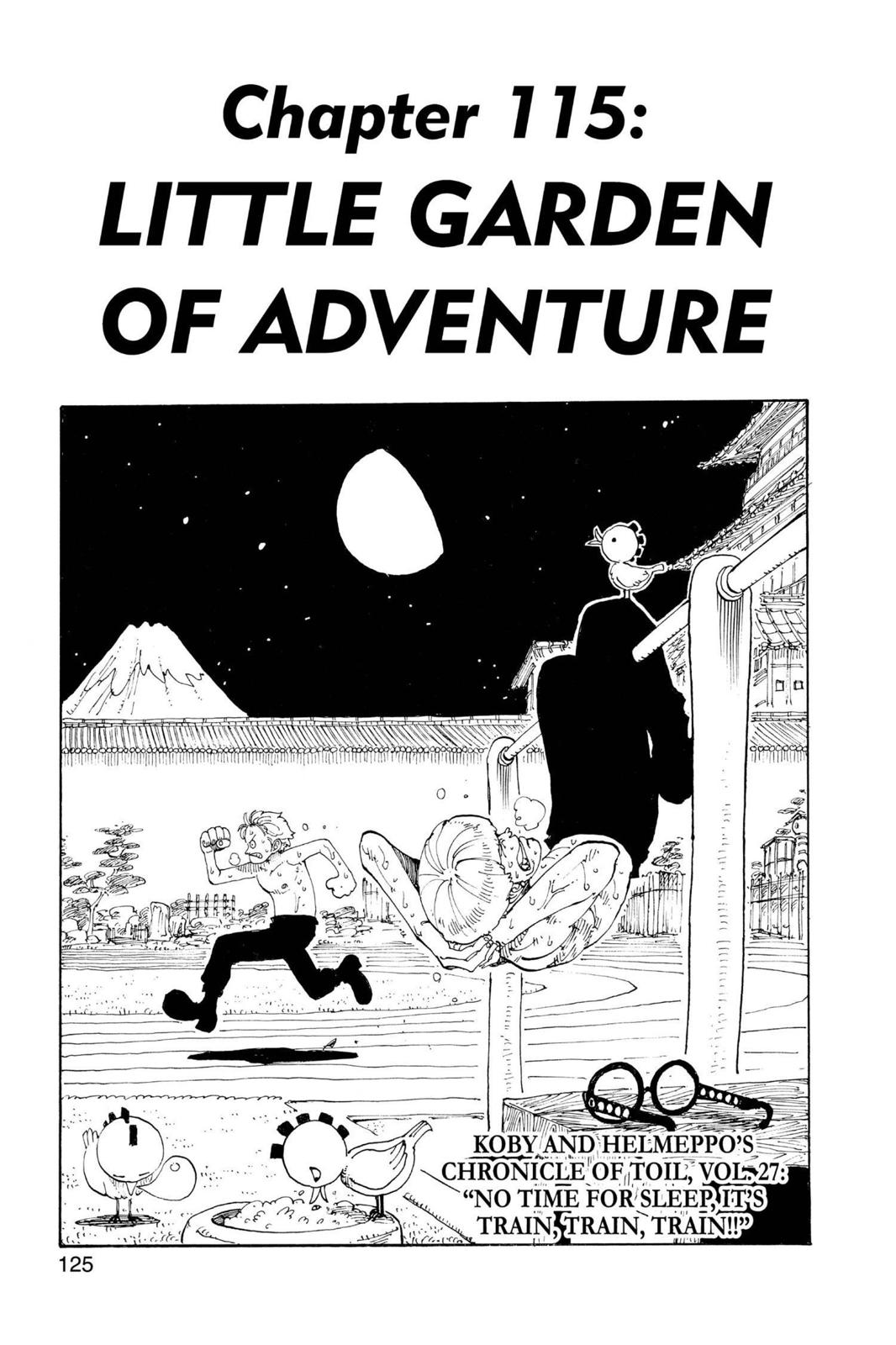 One Piece, Chapter 115 image 001