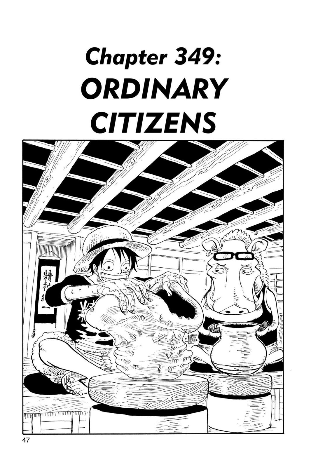 One Piece, Chapter 349 image 001