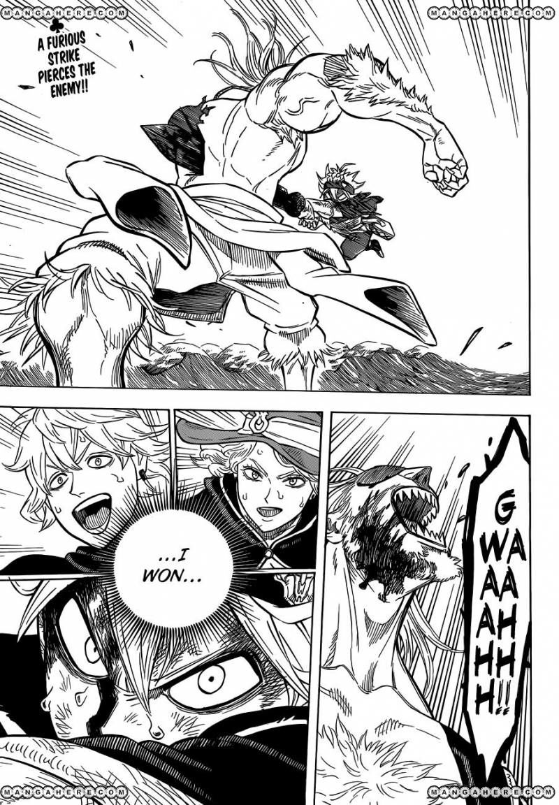 Black Clover, Chapter 71 Open the Path of Destiny image 003