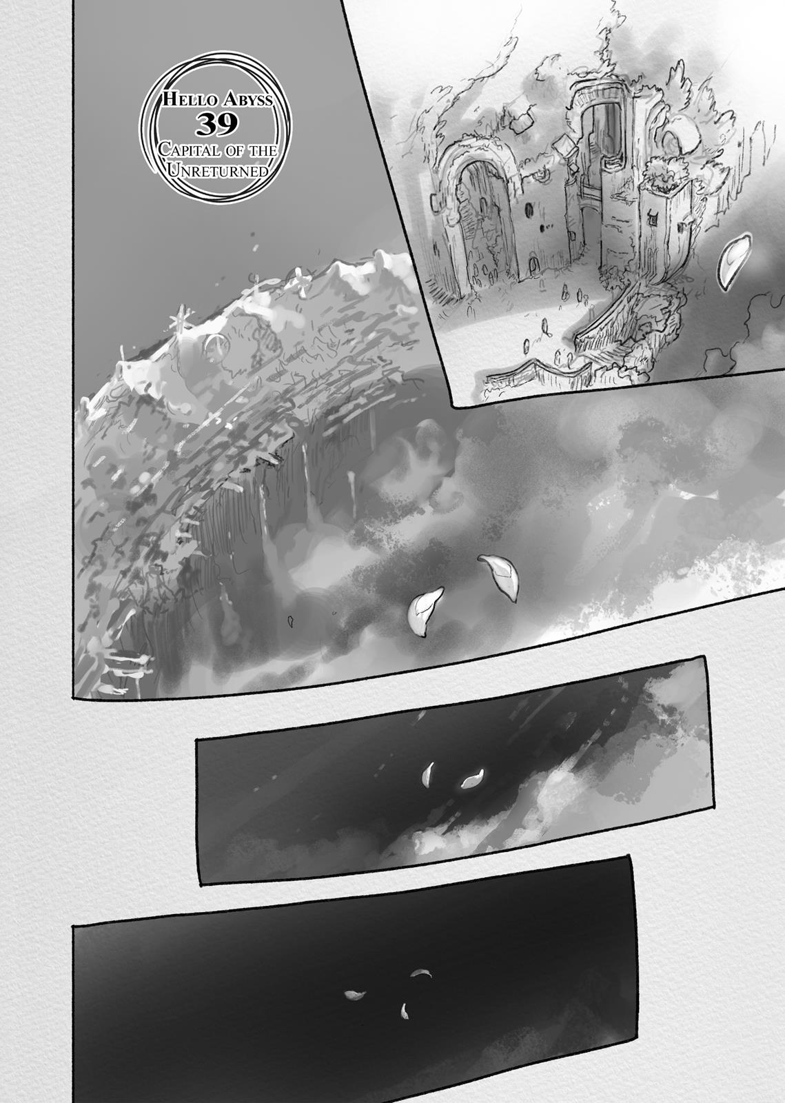 Made In Abyss, Chapter Hello,Abyss 39 image 001