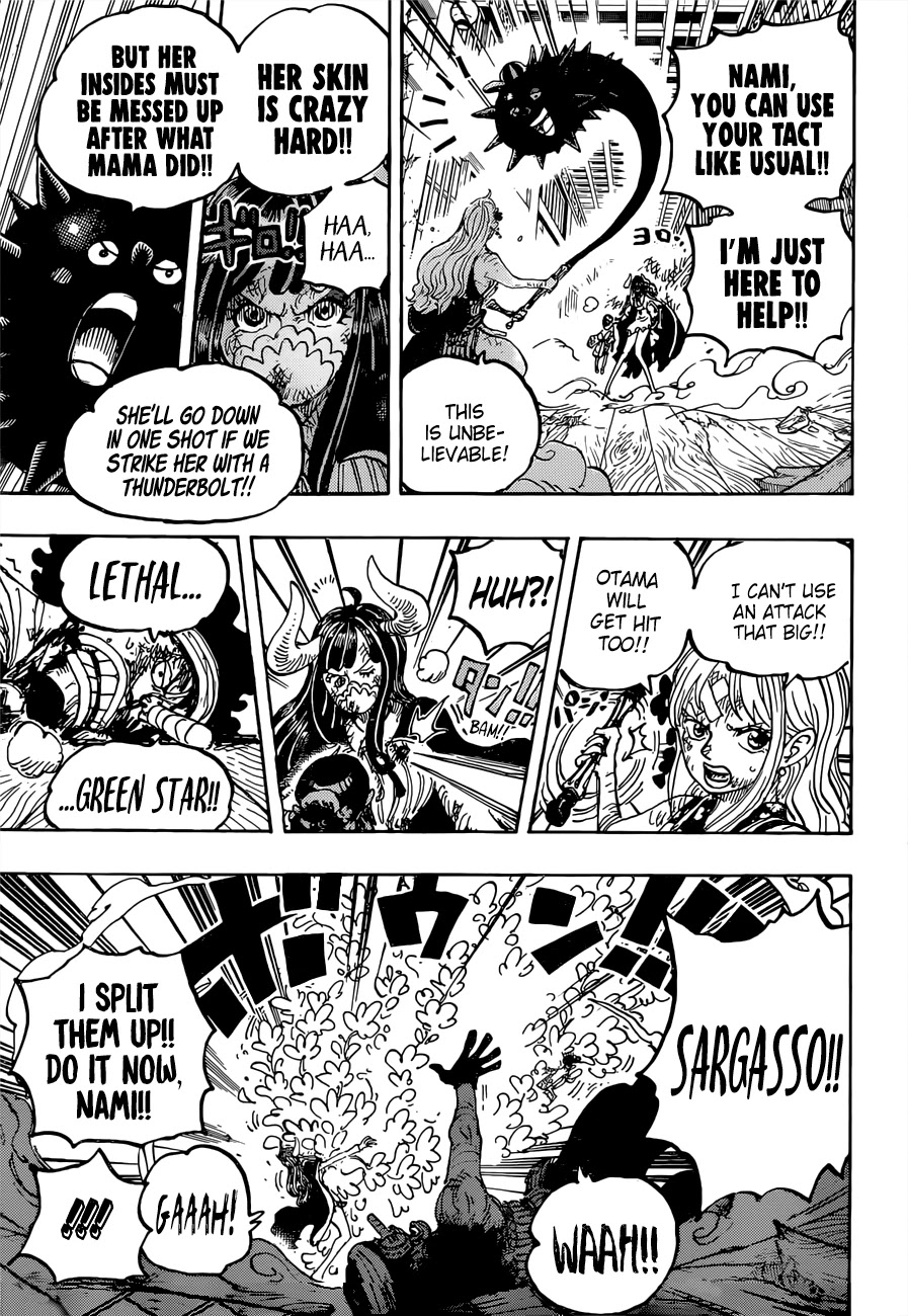 One Piece, Chapter 1016 image 010