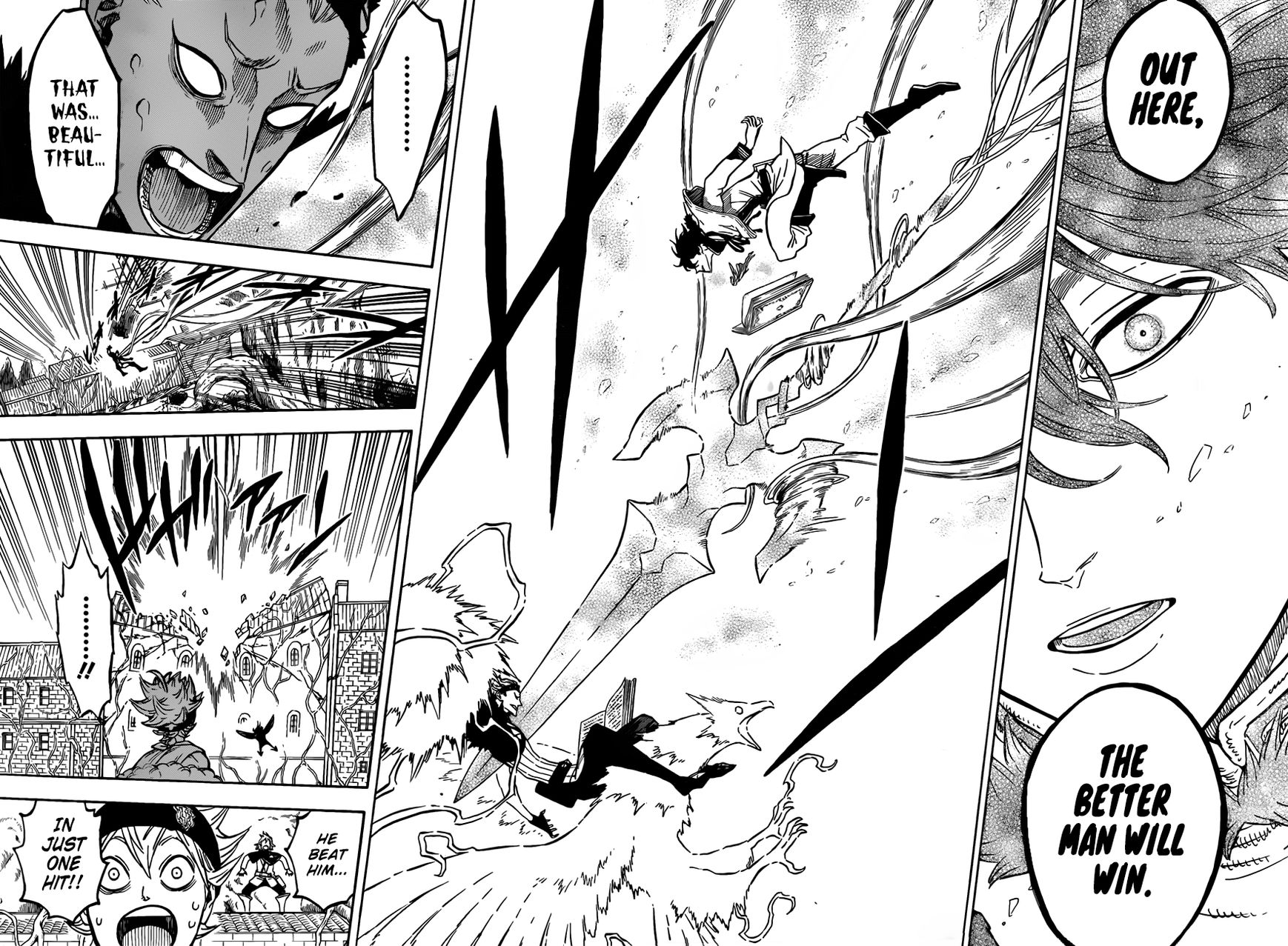 Black Clover, Chapter 77 The Better Man Will Win image 015