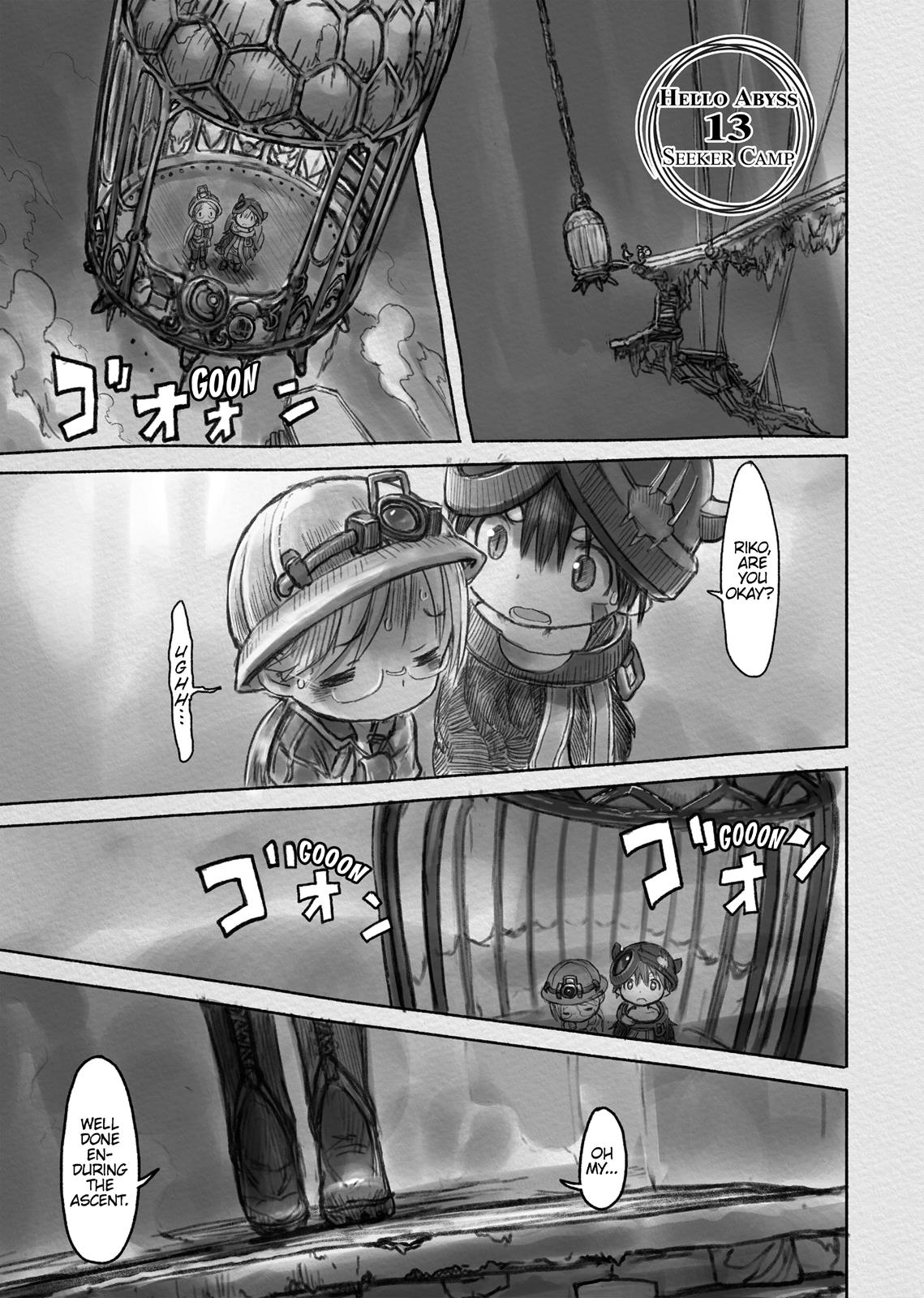 Made In Abyss, Chapter Hello,Abyss 13 image 001