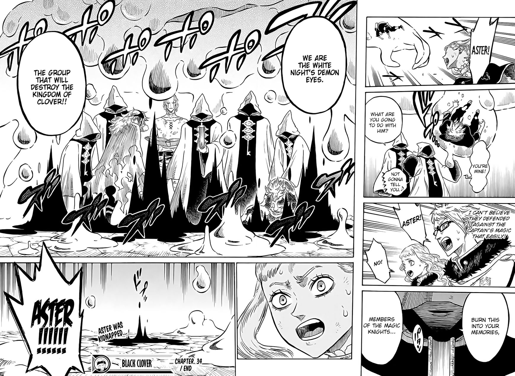 Black Clover, Chapter 34 The Wounded Beast image 017