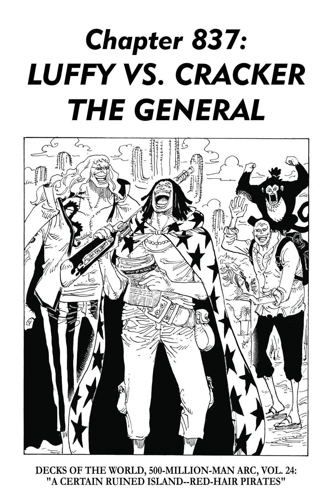 One Piece, Chapter 837 image 001