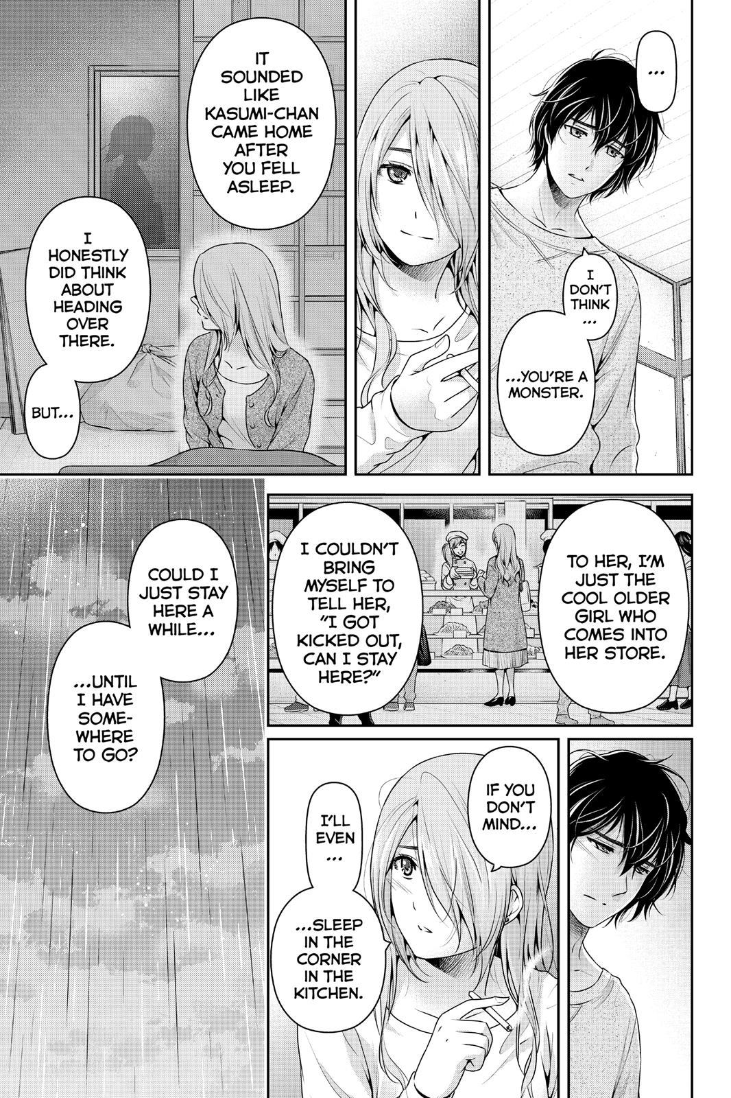 Domestic Na Kanojo, Chapter 220 image 009