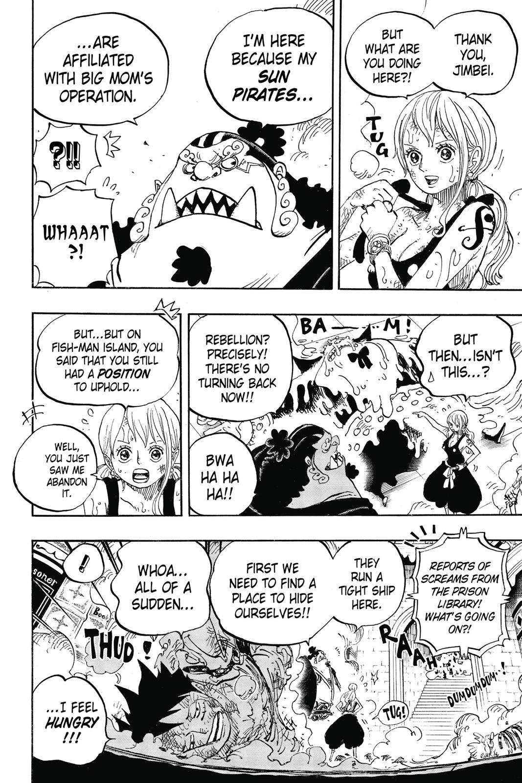 One Piece, Chapter 852 image 006