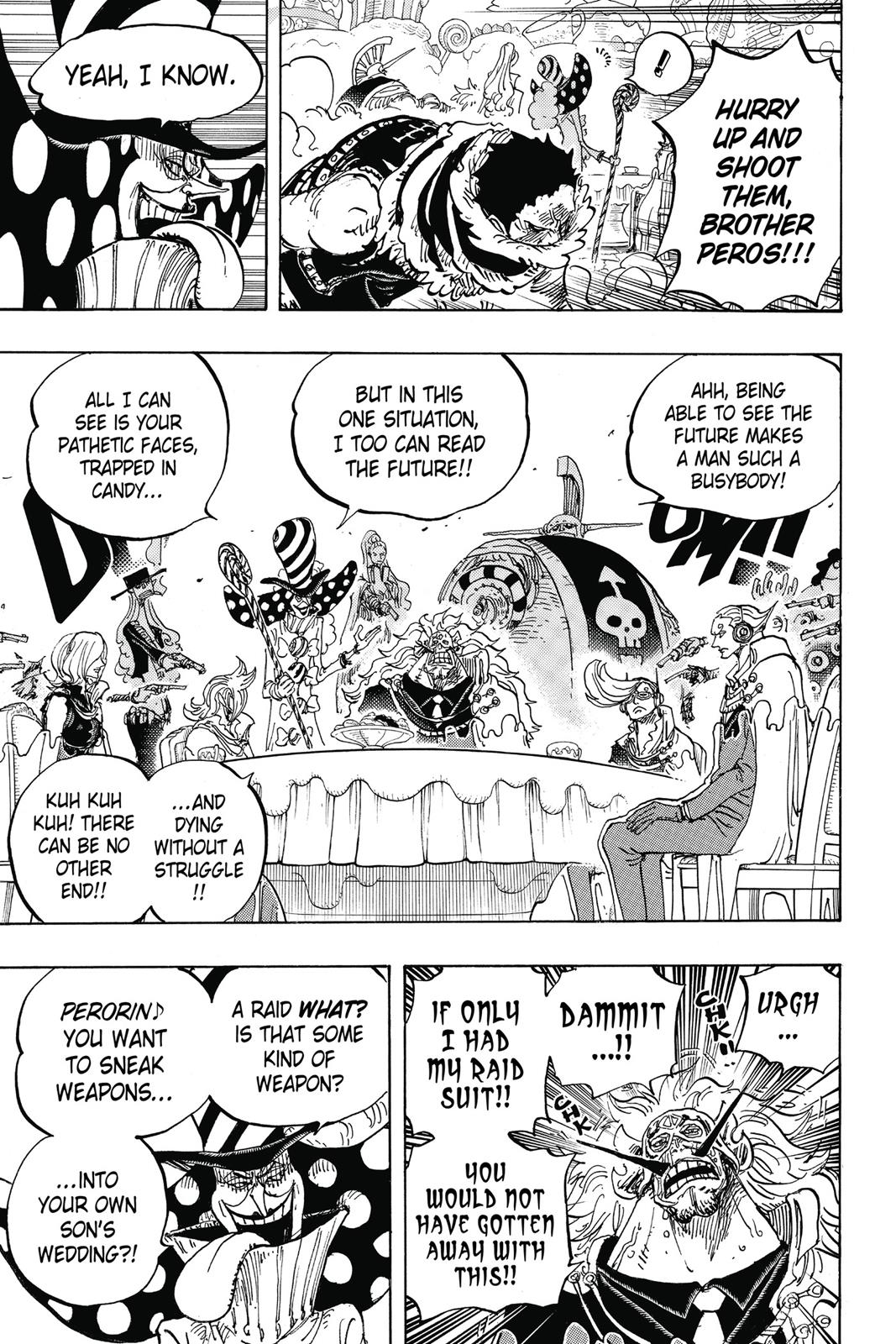 One Piece, Chapter 865 image 005