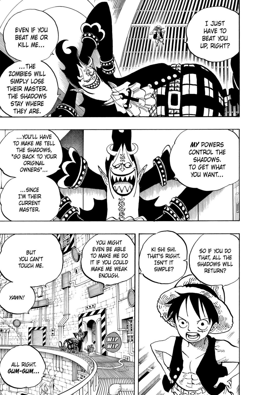 One Piece, Chapter 463 image 003