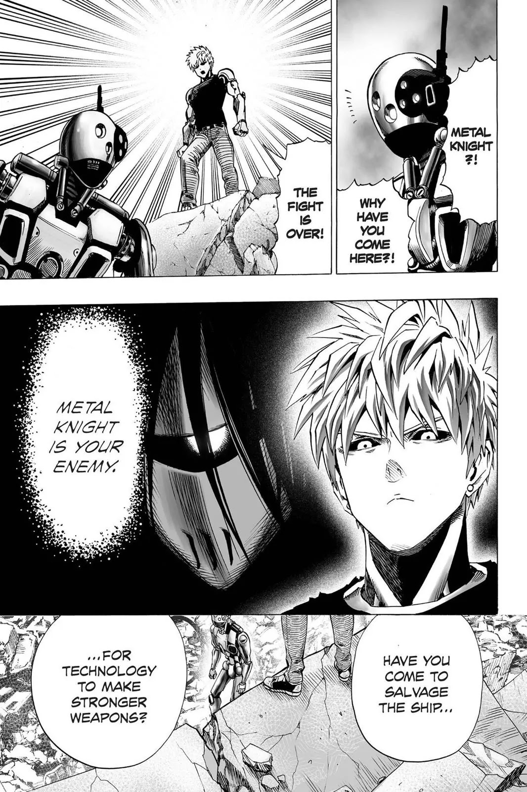 One Punch Man, Chapter Onepunch-Man 37 image 017