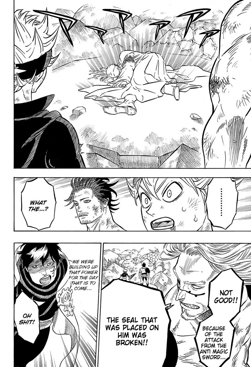 Black Clover, Chapter 53 That isn't yours image 008