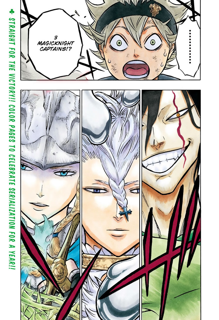Black Clover, Chapter 52 Those Without Mana image 002