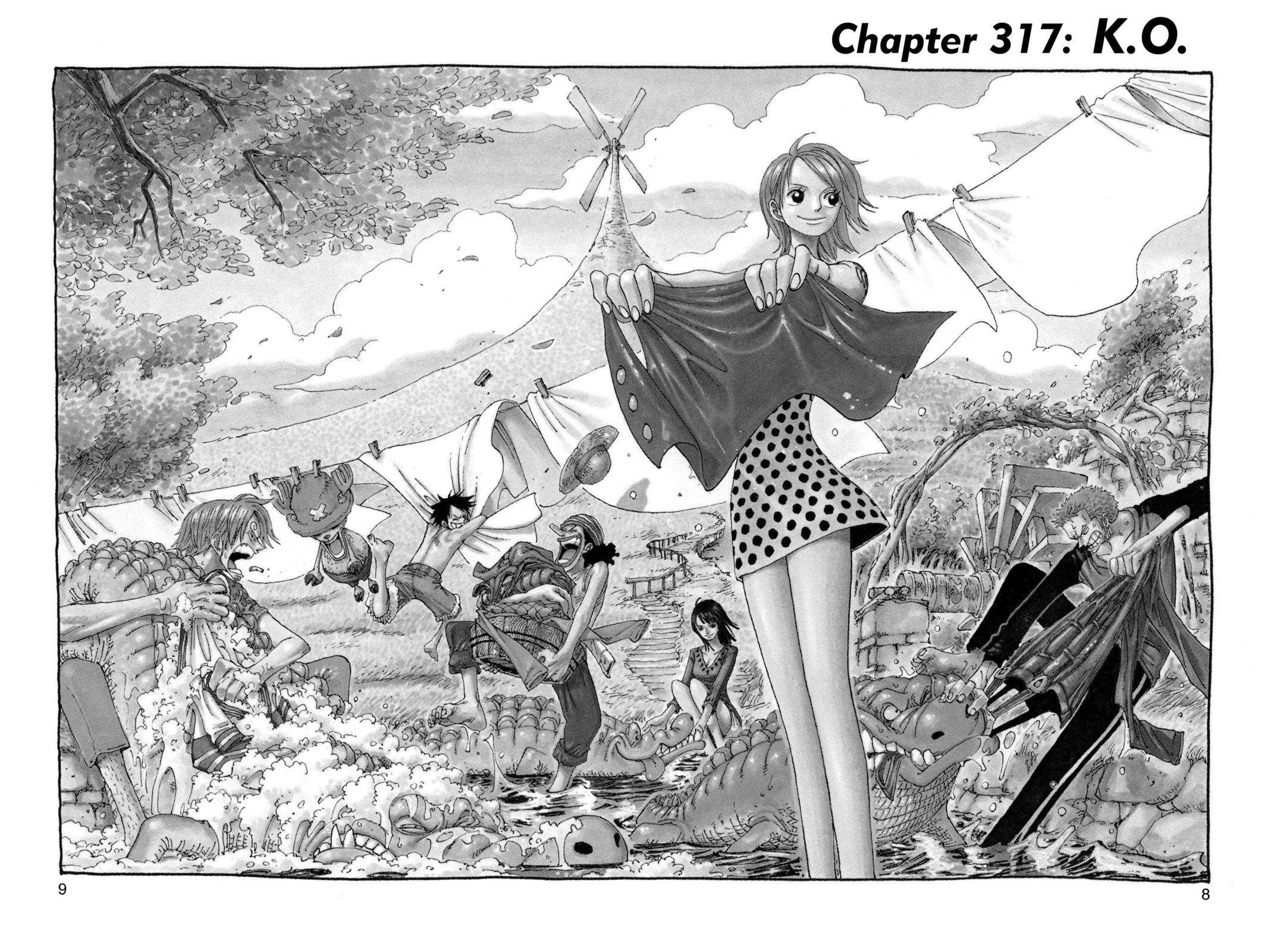 One Piece, Chapter 317 image 008