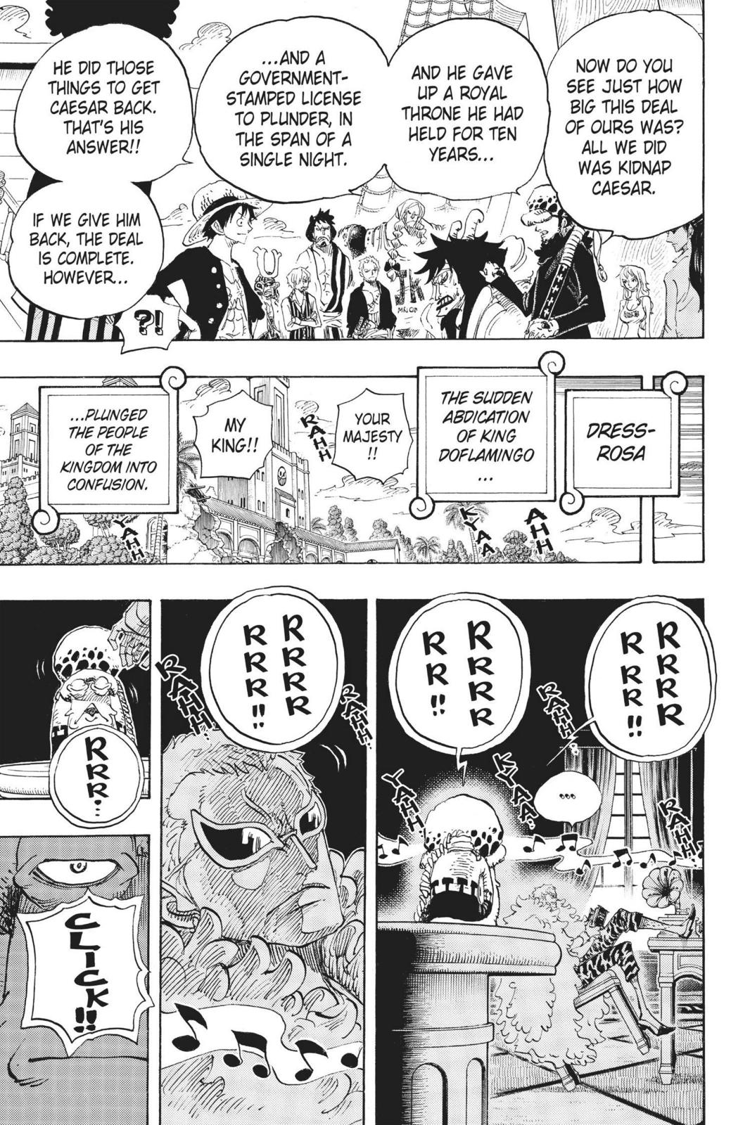 One Piece, Chapter 699 image 019