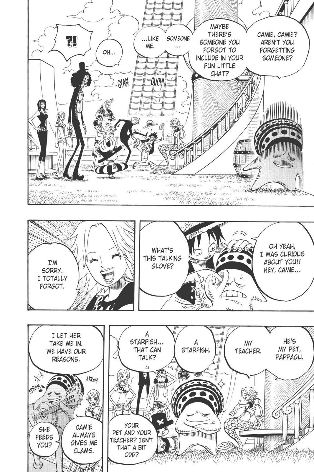 One Piece, Chapter 491 image 004