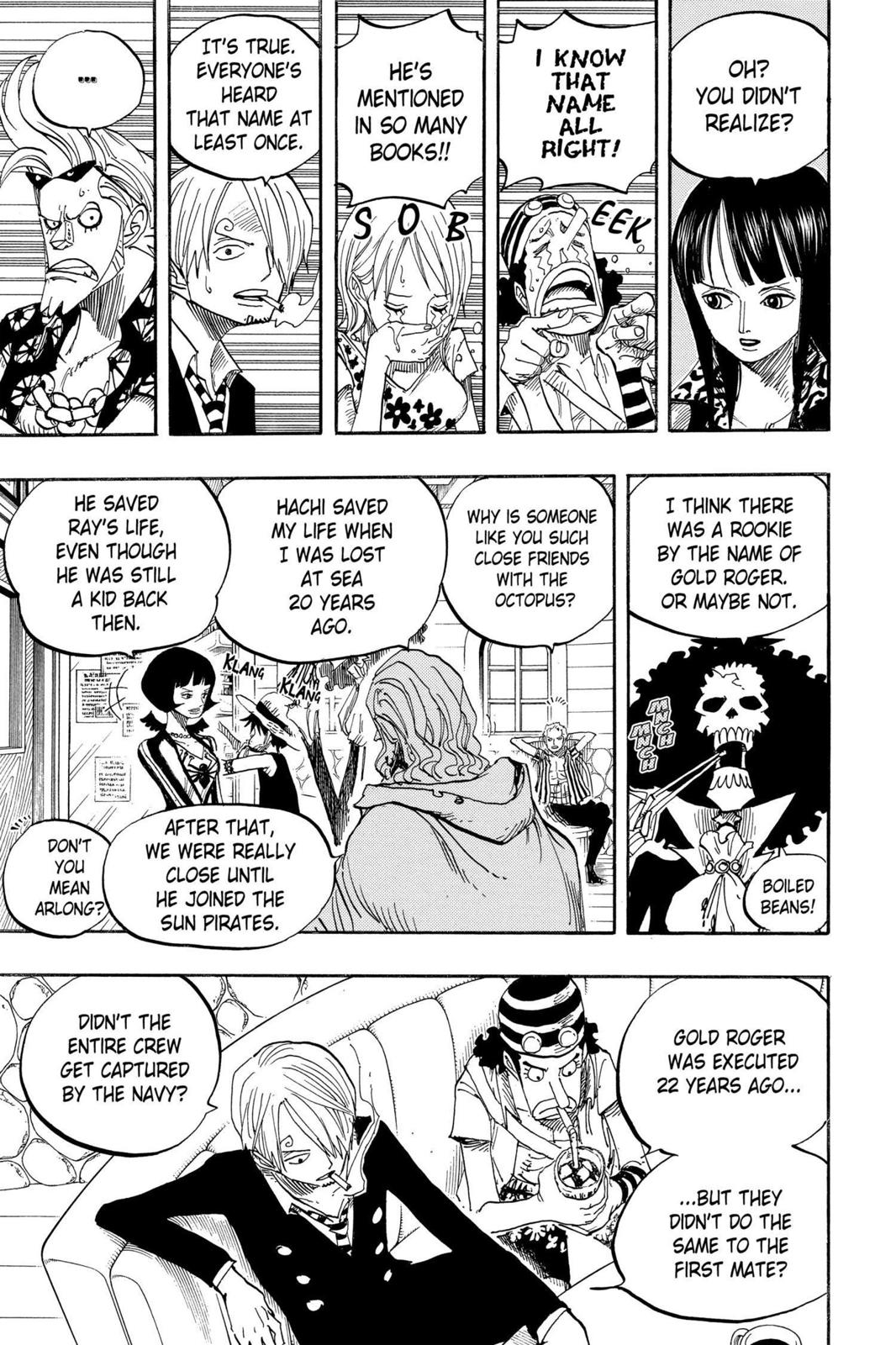 One Piece, Chapter 506 image 009