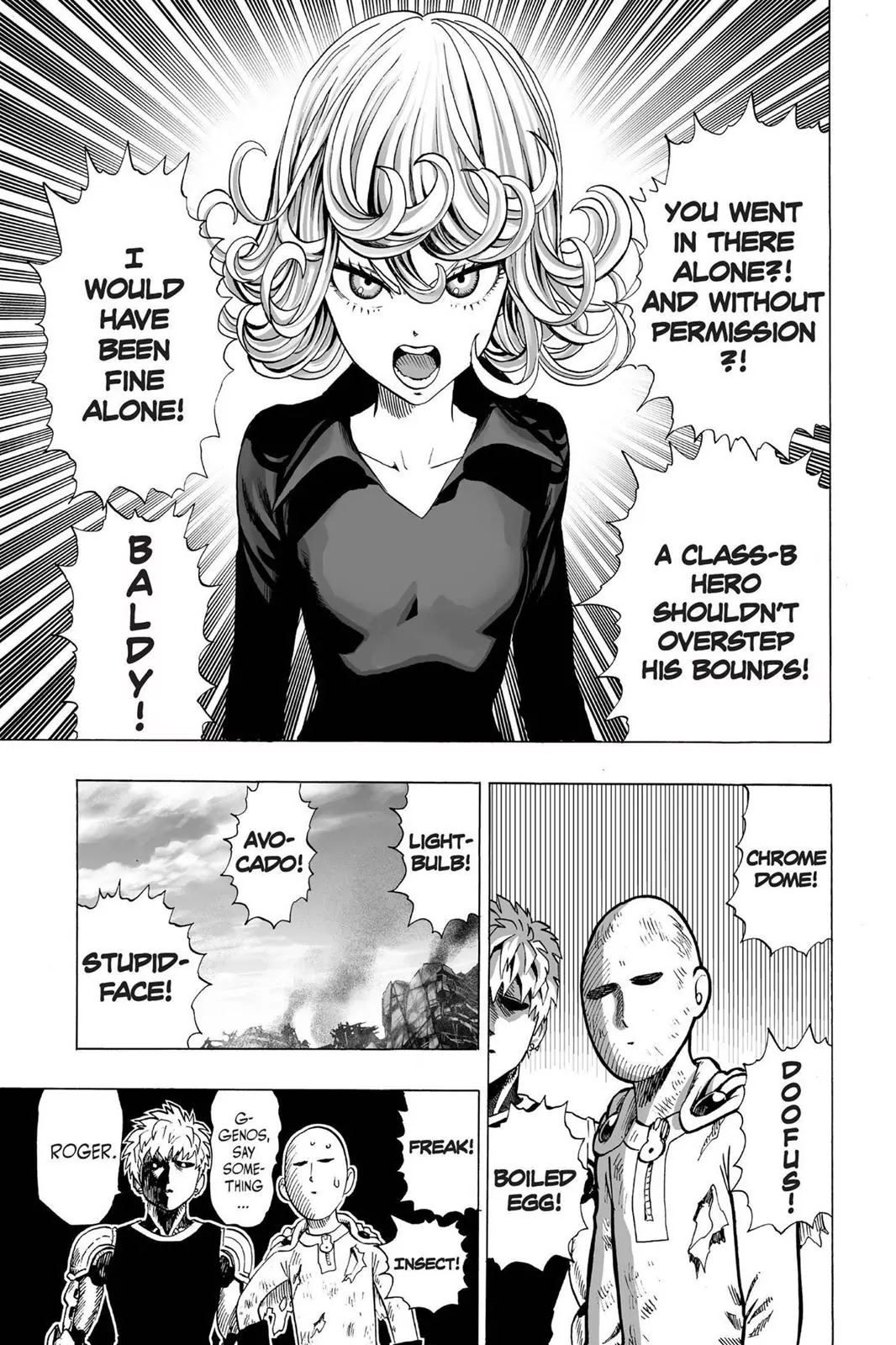 One Punch Man, Chapter Onepunch-Man 37 image 025
