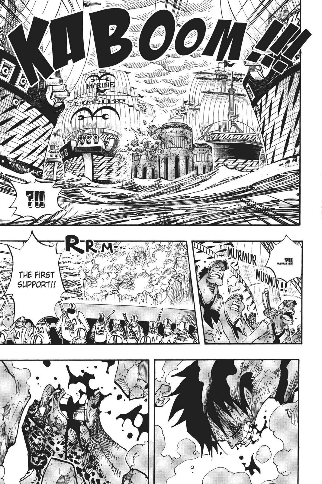 One Piece, Chapter 427 image 016