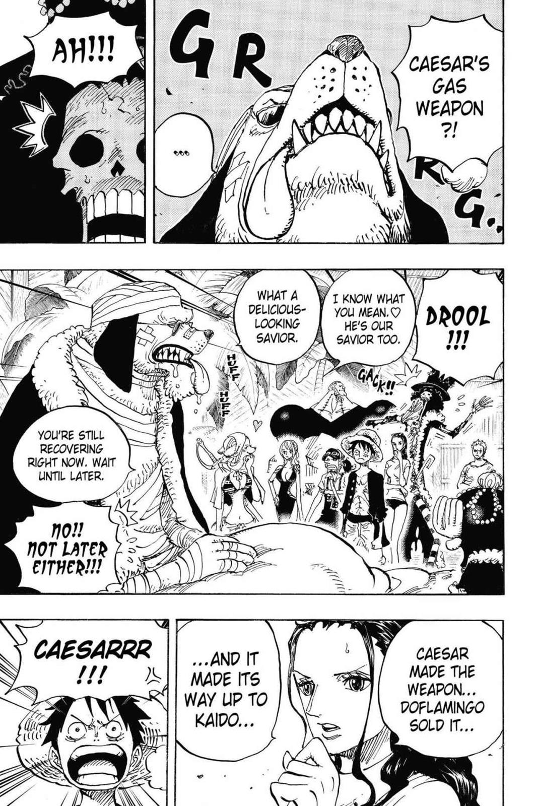One Piece, Chapter 809 image 003