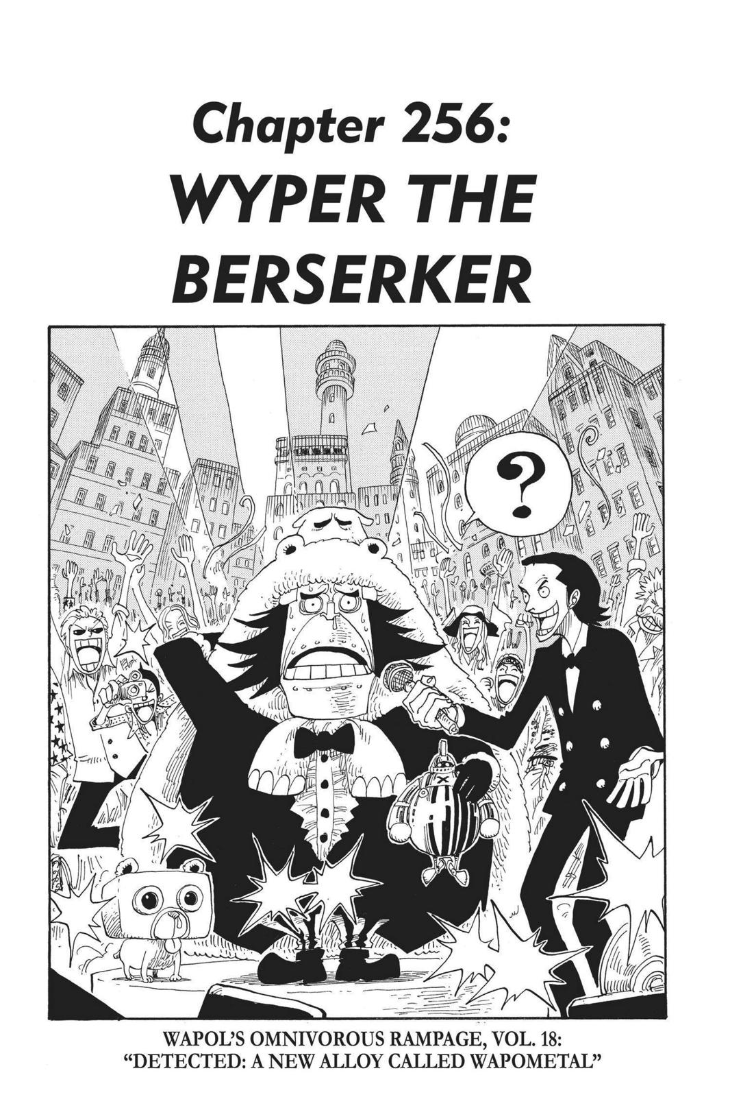 One Piece, Chapter 256 image 007