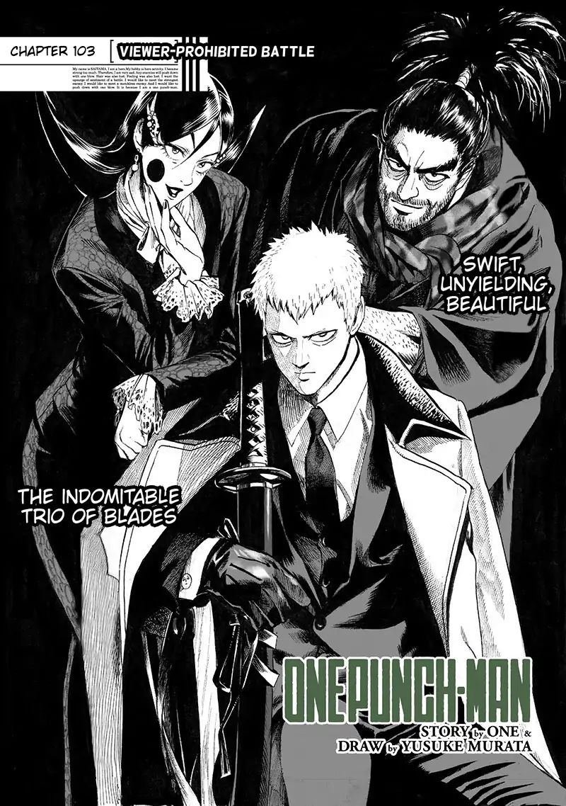 One Punch Man, Chapter Onepunch-Man 103 image 001