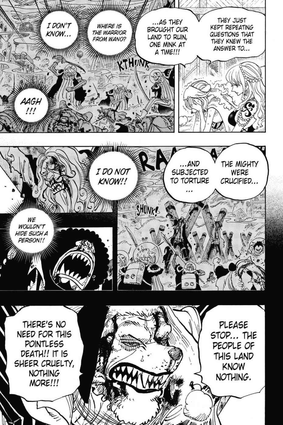 One Piece, Chapter 810 image 009