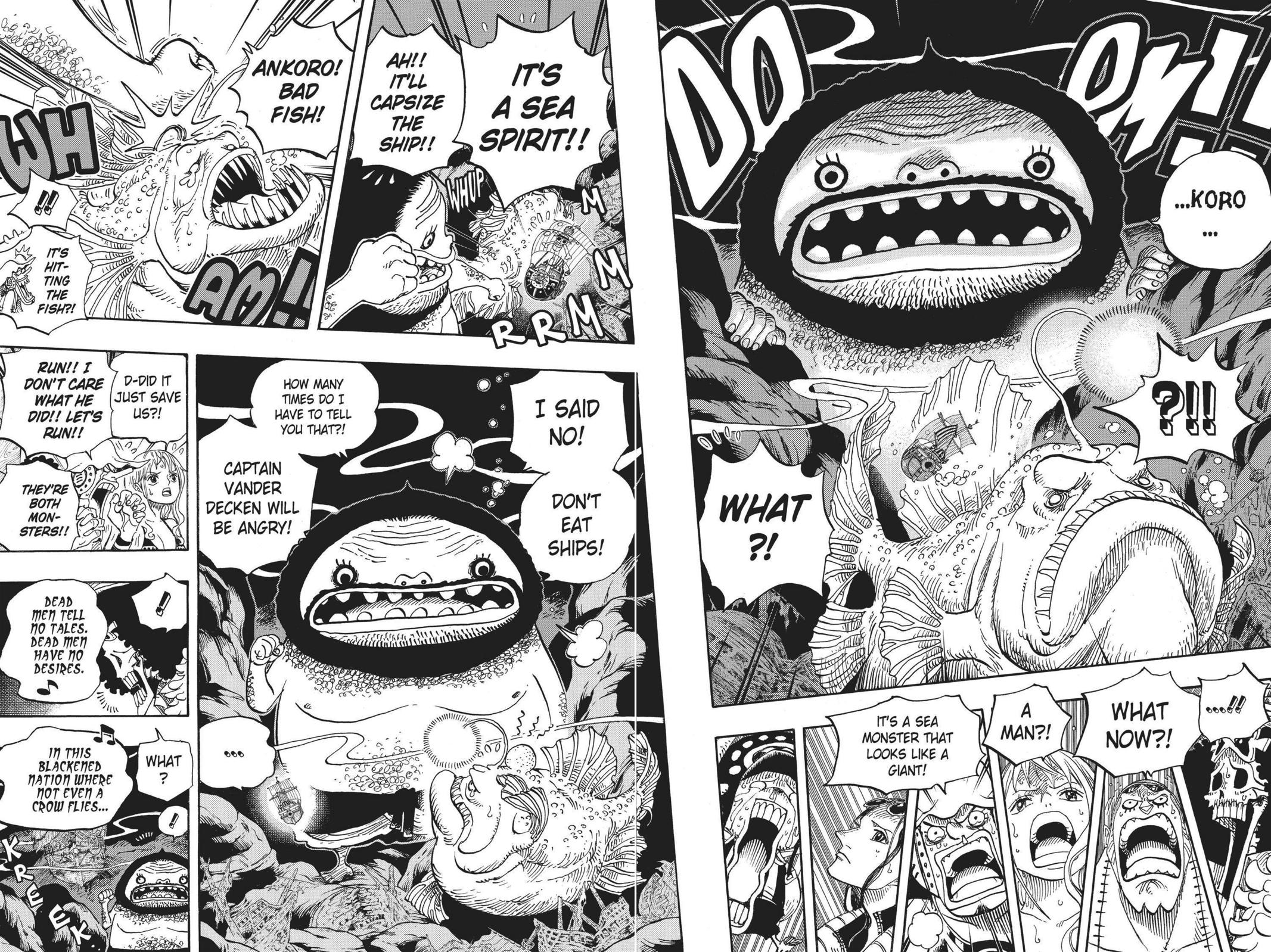 One Piece, Chapter 606 image 009