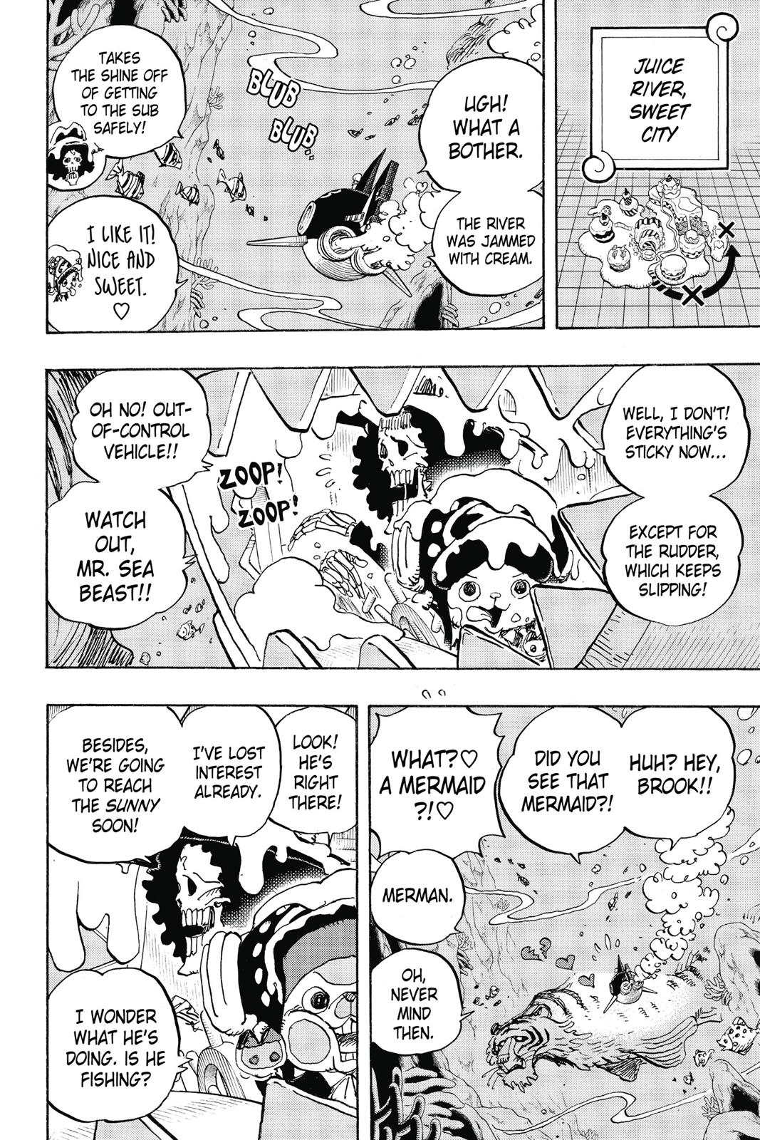 One Piece, Chapter 875 image 002