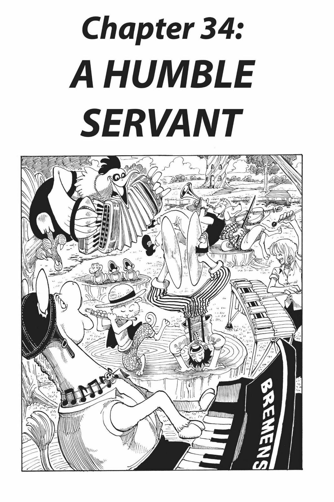 One Piece, Chapter 34 image 001