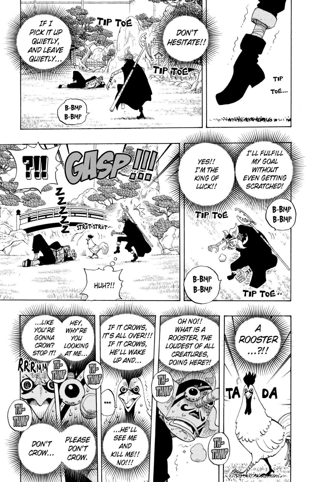 One Piece, Chapter 401 image 013