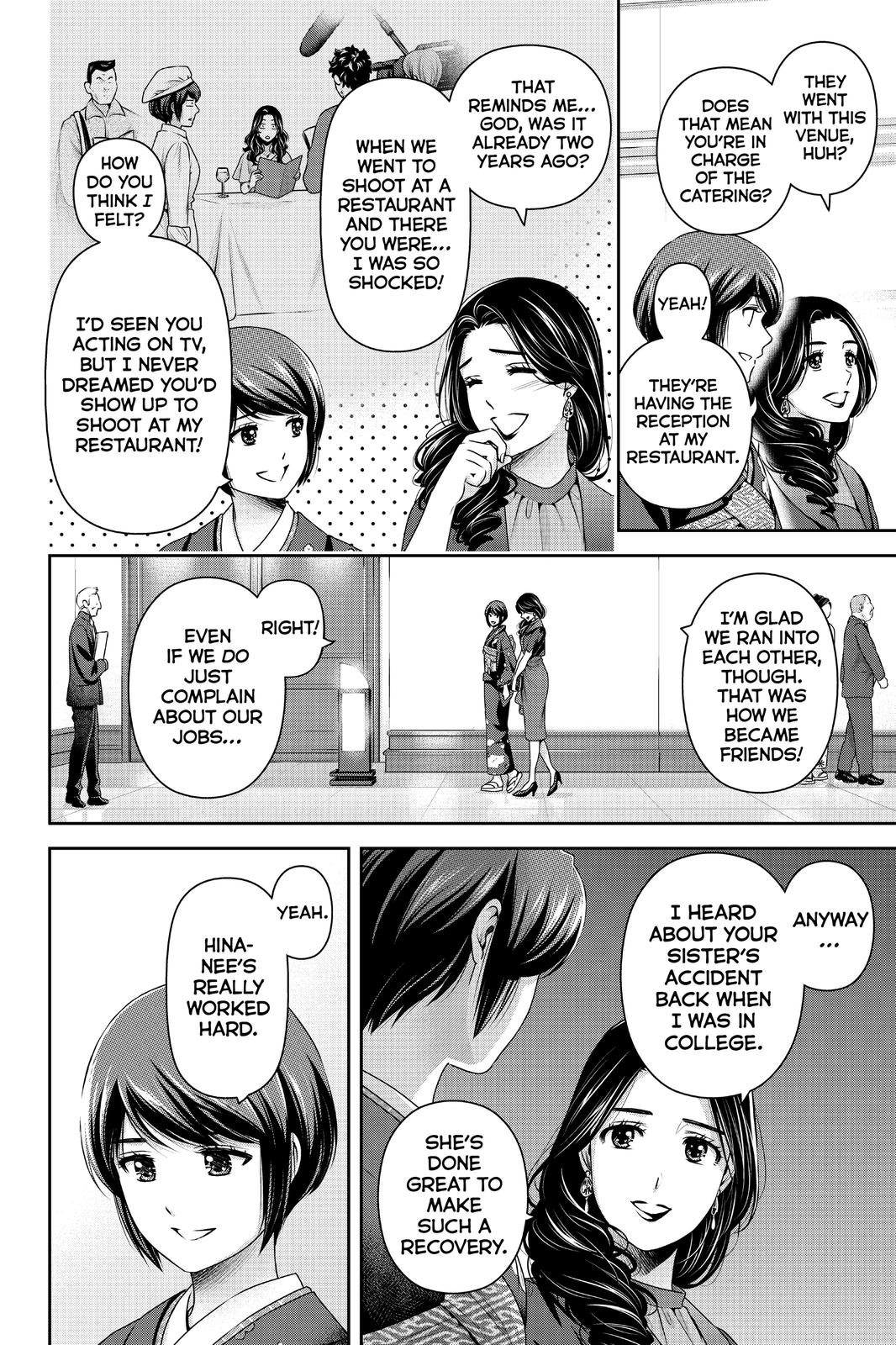 Domestic Na Kanojo, Chapter 276 image 005