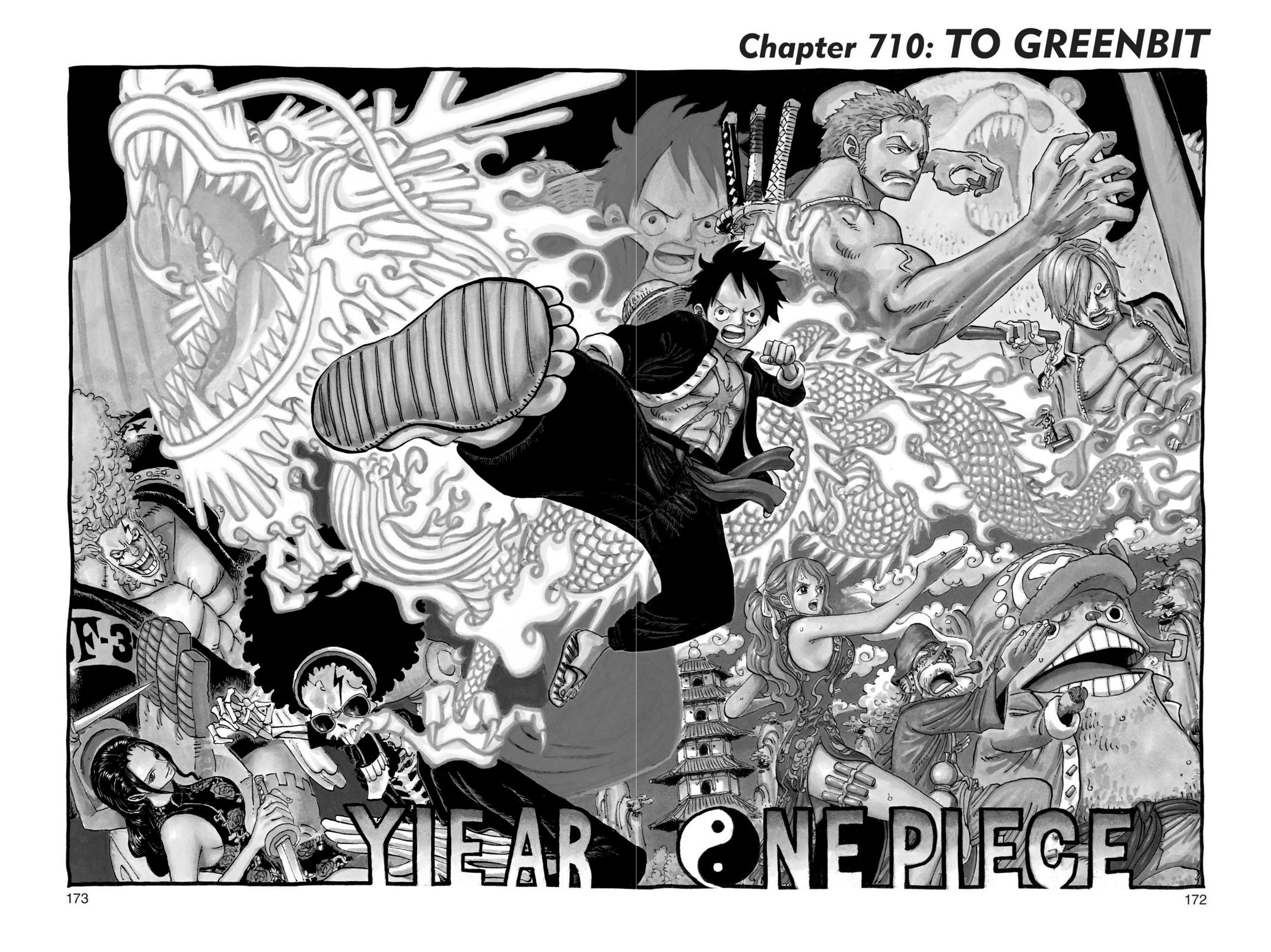 One Piece, Chapter 710 image 001