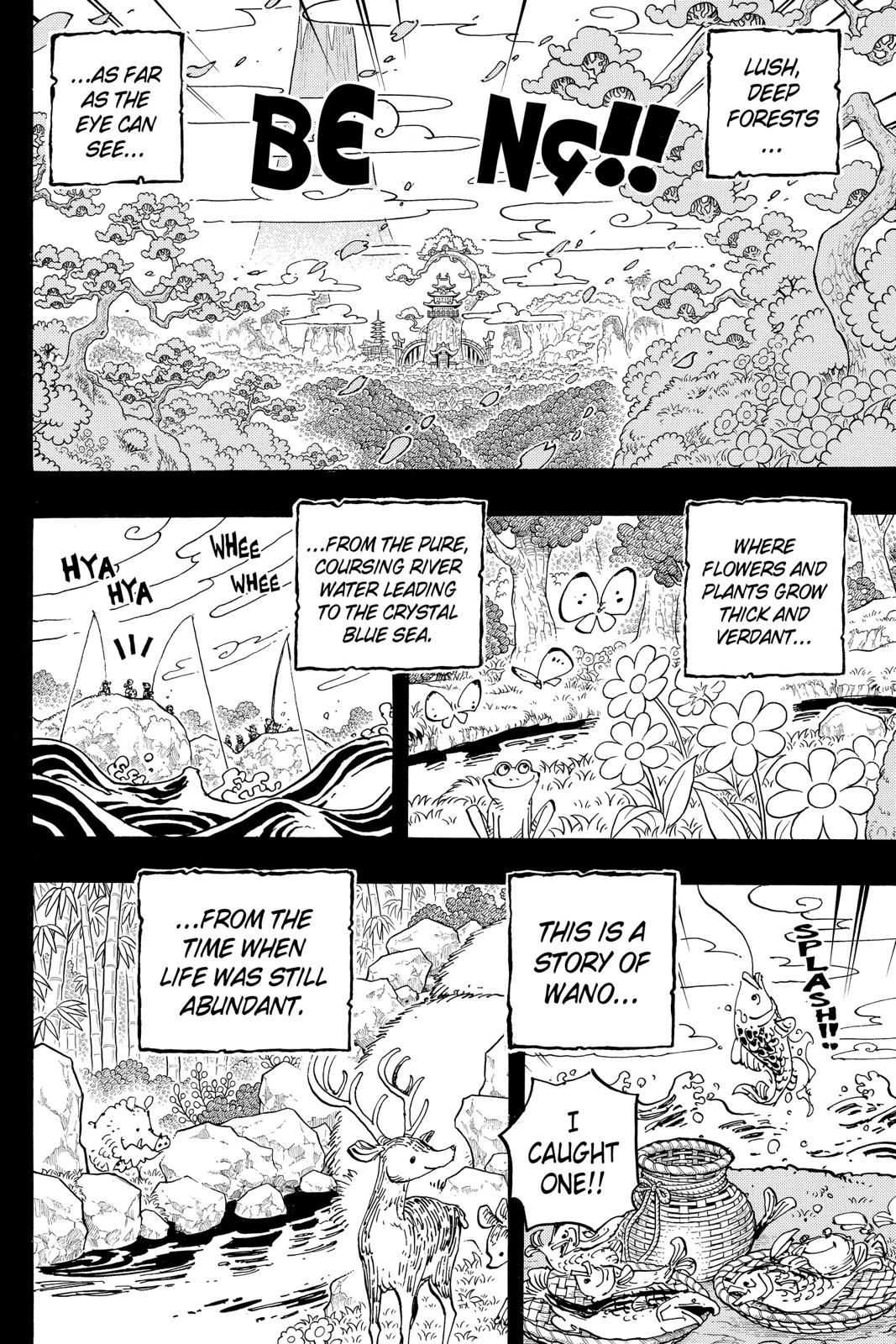 One Piece, Chapter 960 image 002