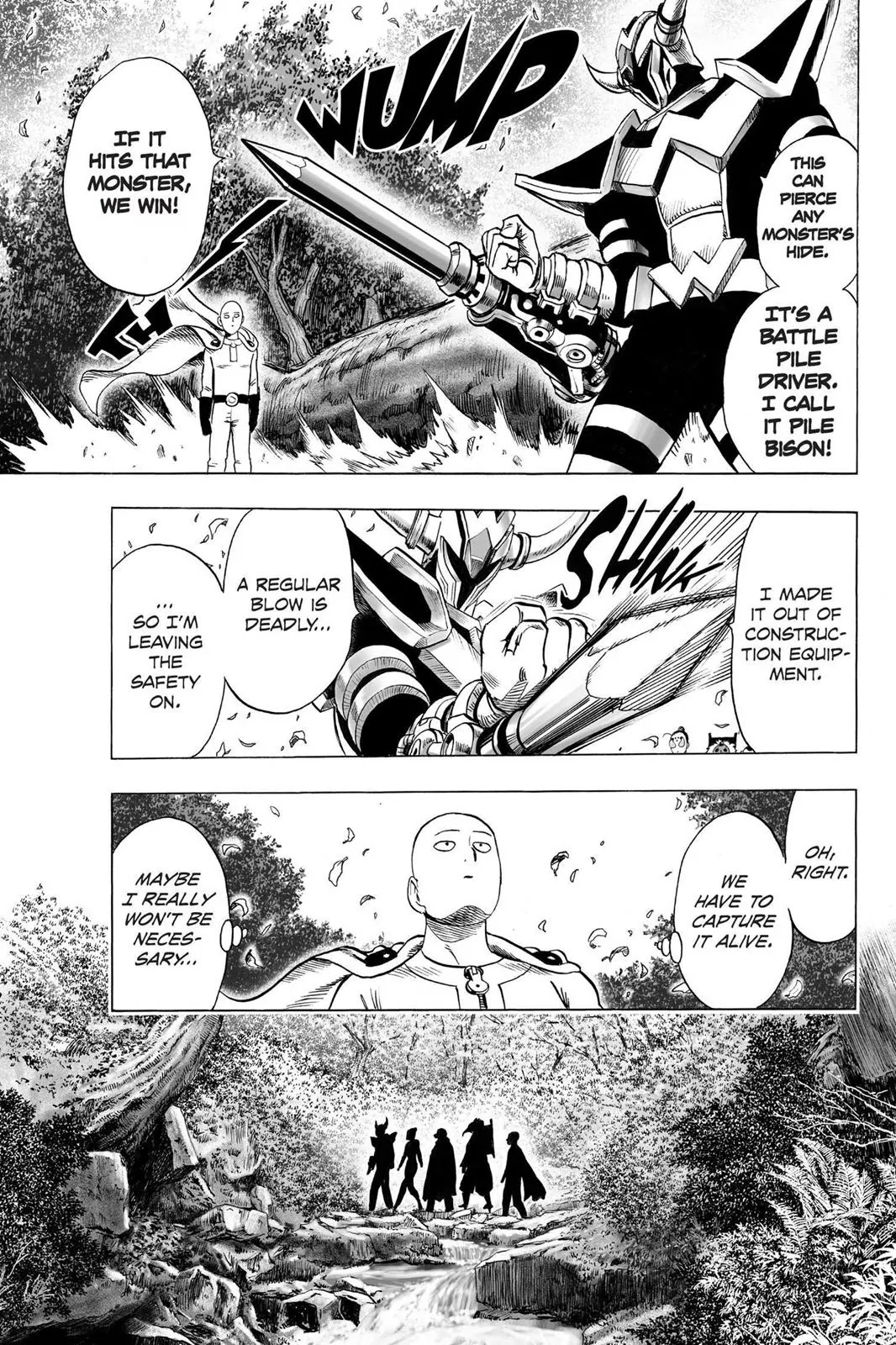 One Punch Man, Chapter Onepunch-Man 61.5 image 012