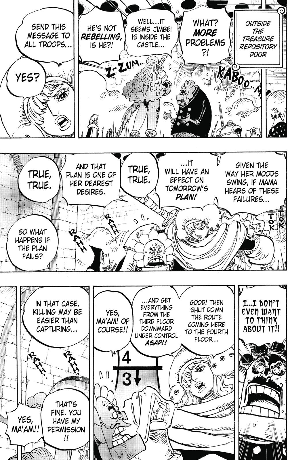 One Piece, Chapter 852 image 015
