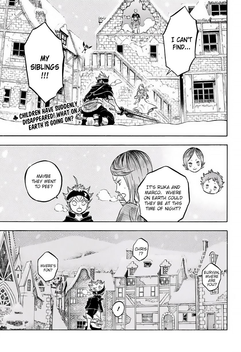 Black Clover, Chapter 40 The Snowy Chase image 002
