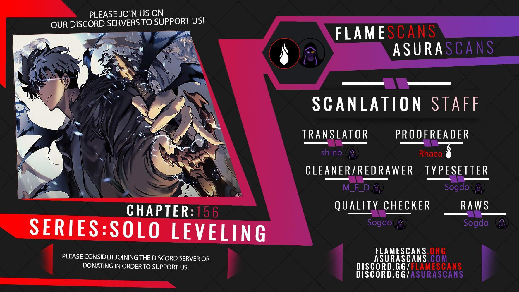 Solo Leveling, Chapter 156 image 001