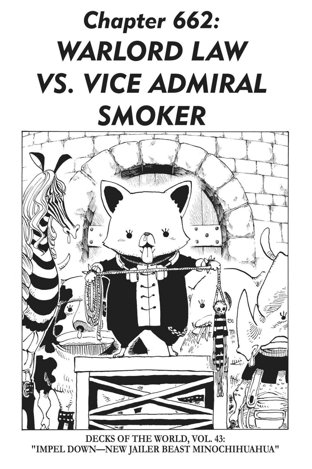One Piece, Chapter 662 image 001