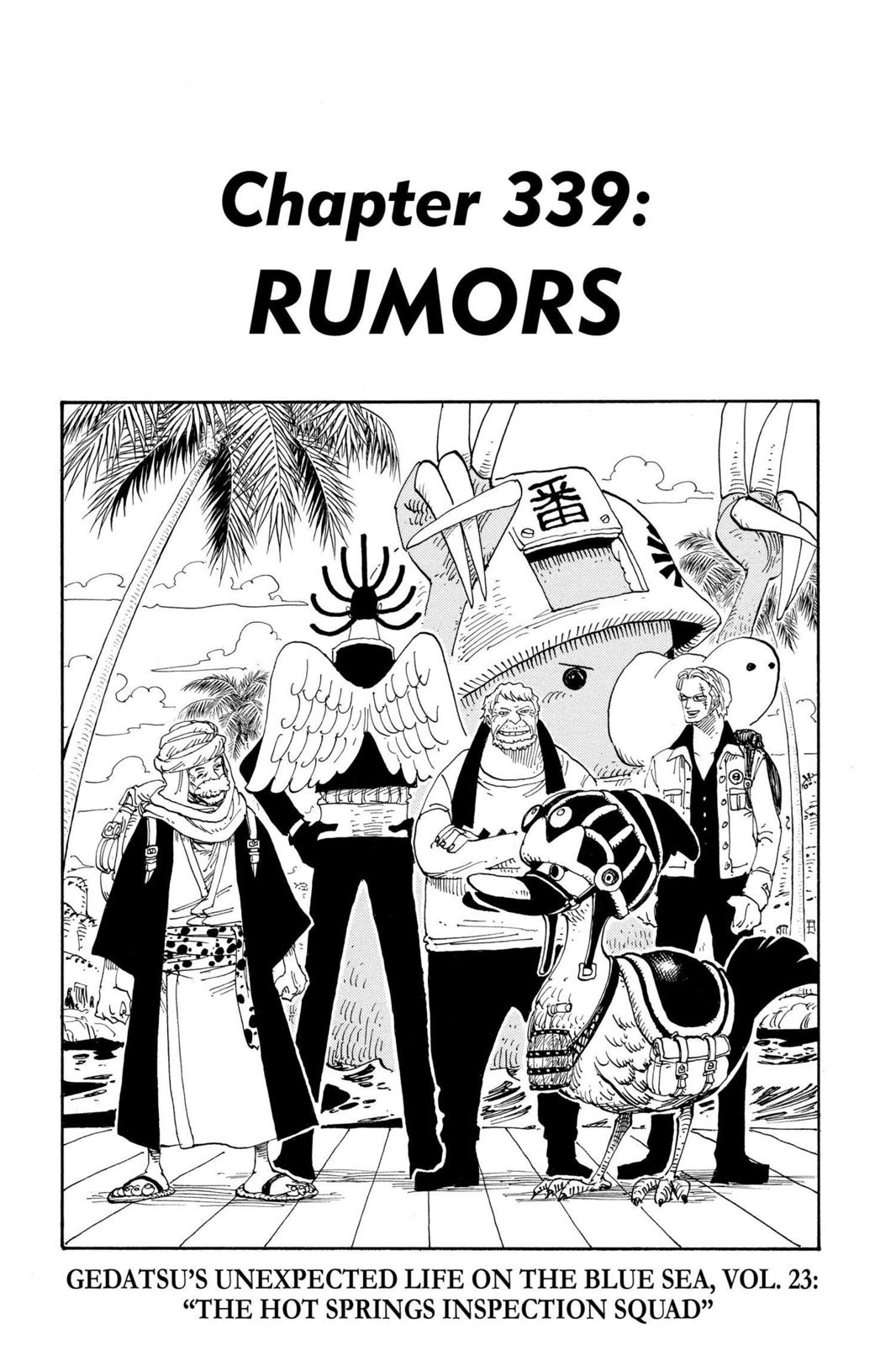 One Piece, Chapter 339 image 001