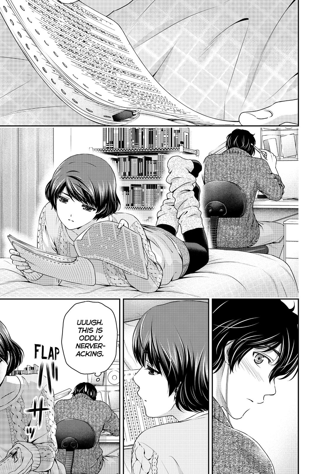 Domestic Na Kanojo, Chapter 60 image 009