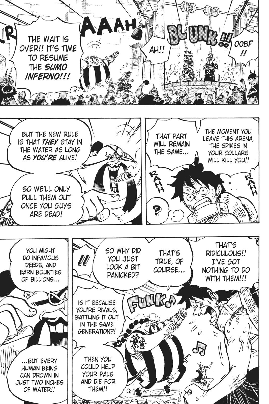 One Piece, Chapter 944 image 013
