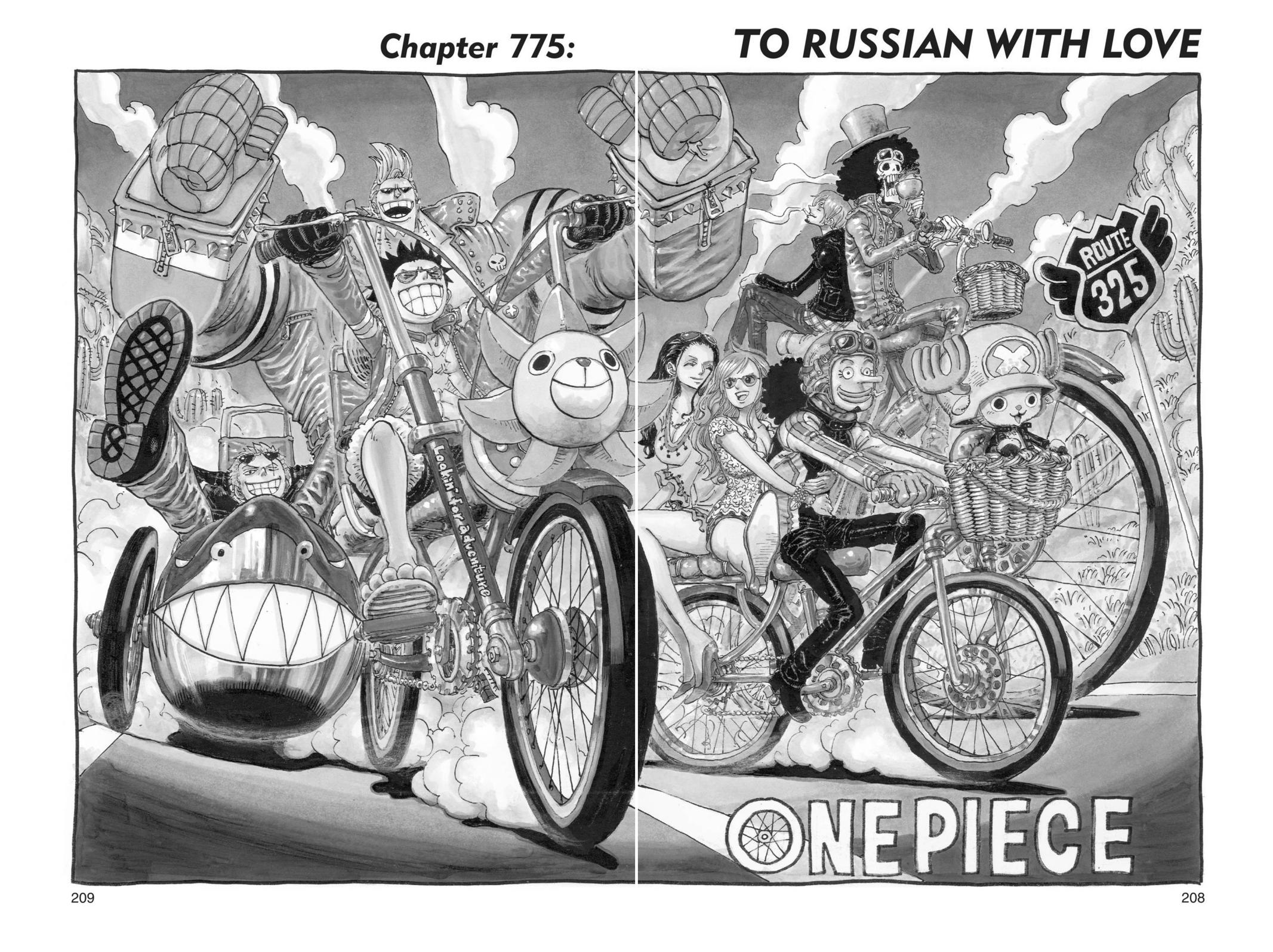 One Piece, Chapter 775 image 001