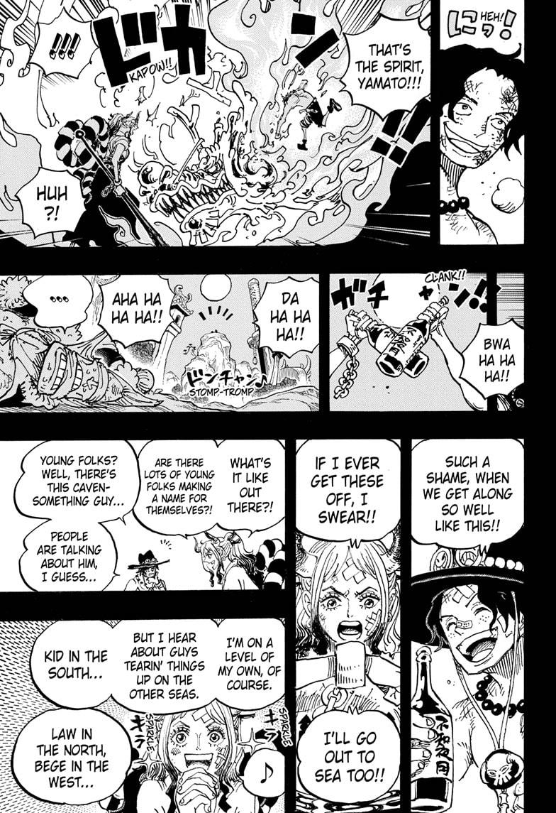 One Piece, Chapter 999 image 007