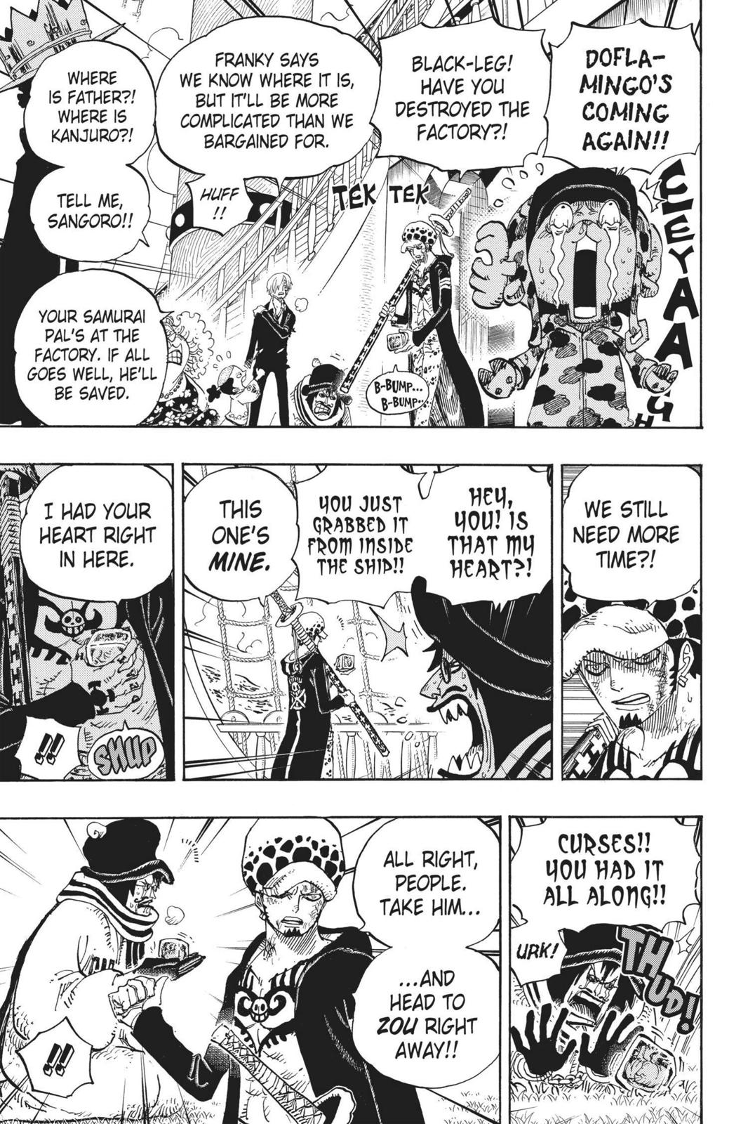 One Piece, Chapter 724 image 011