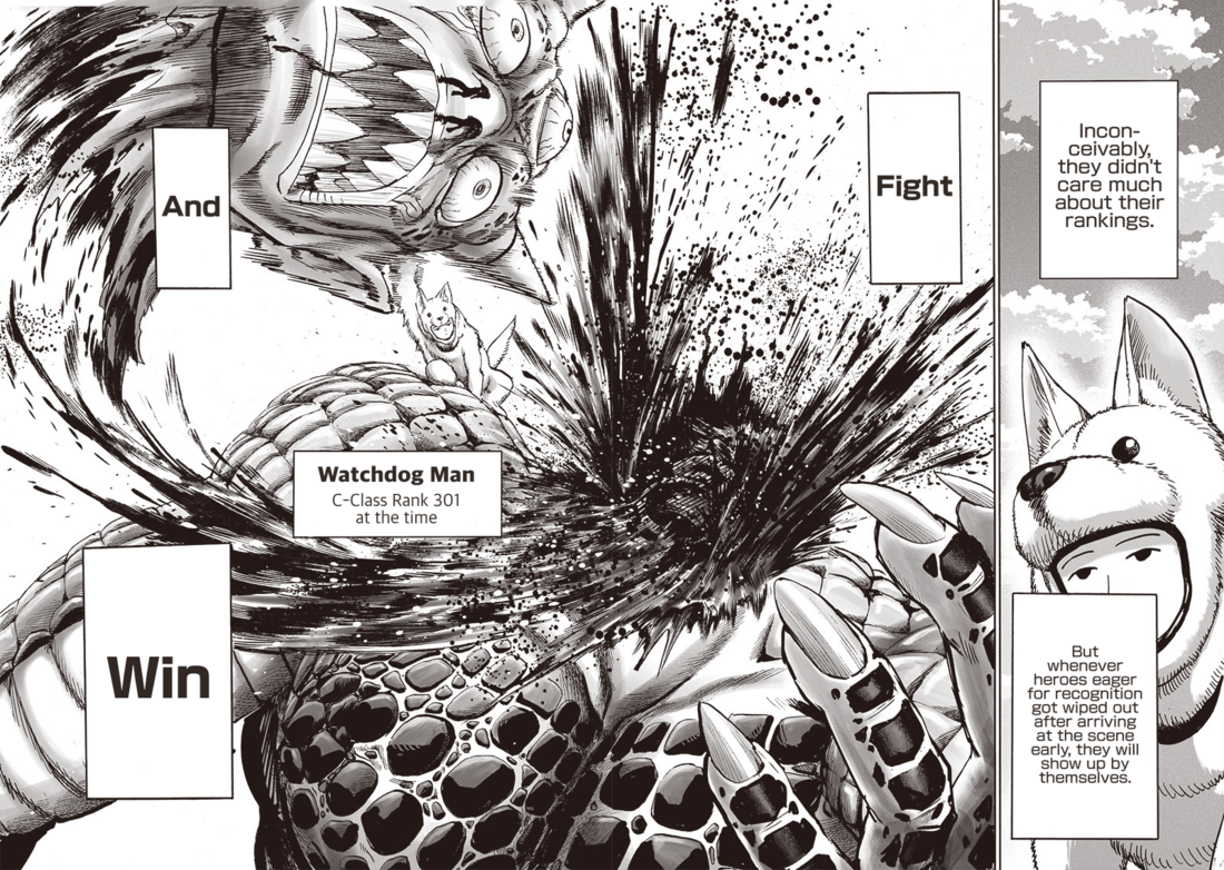 One Punch Man, Chapter One-Punch Man 122 image 019