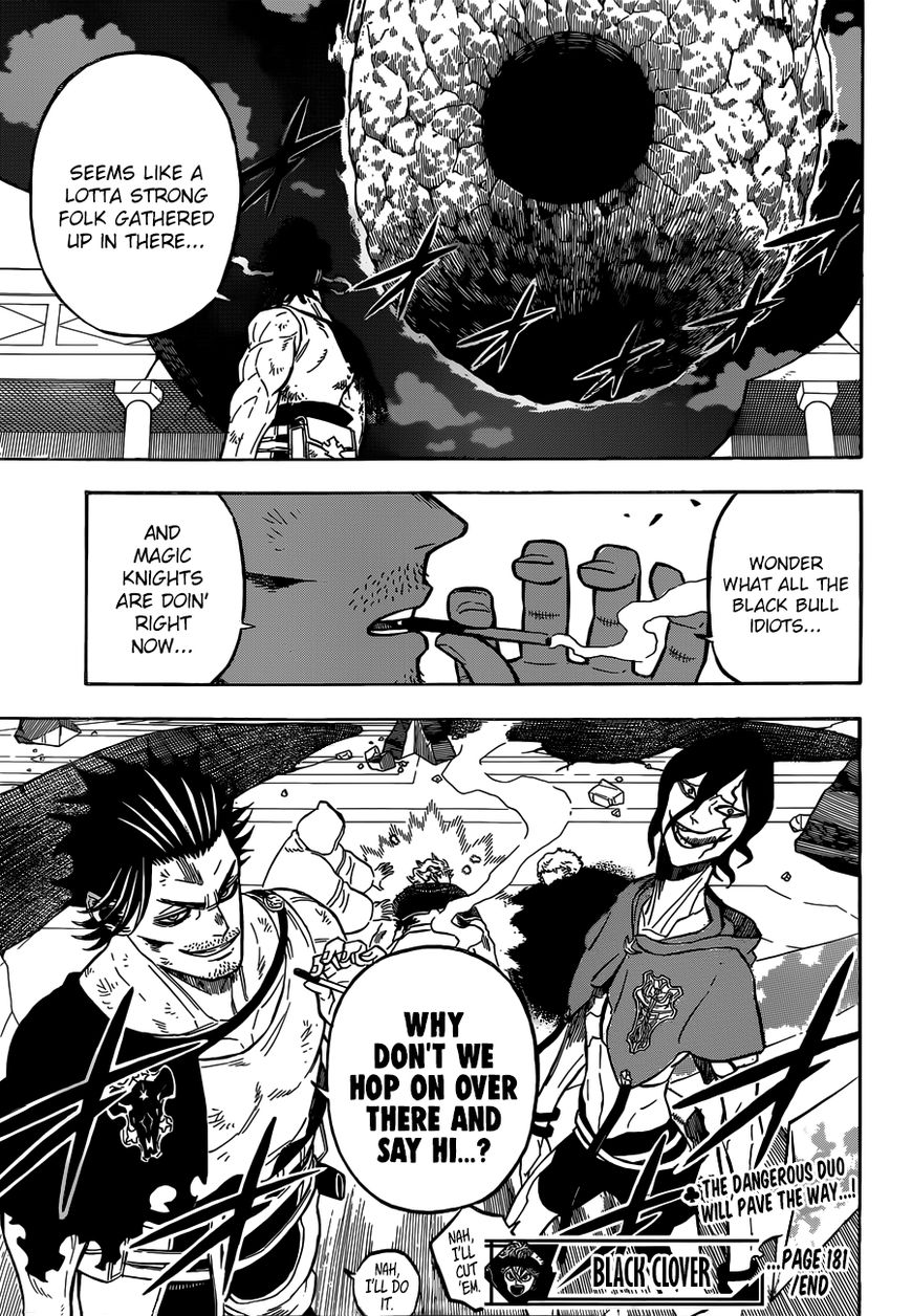 Black Clover, Chapter 181 Brothers of Spatial Magic image 015