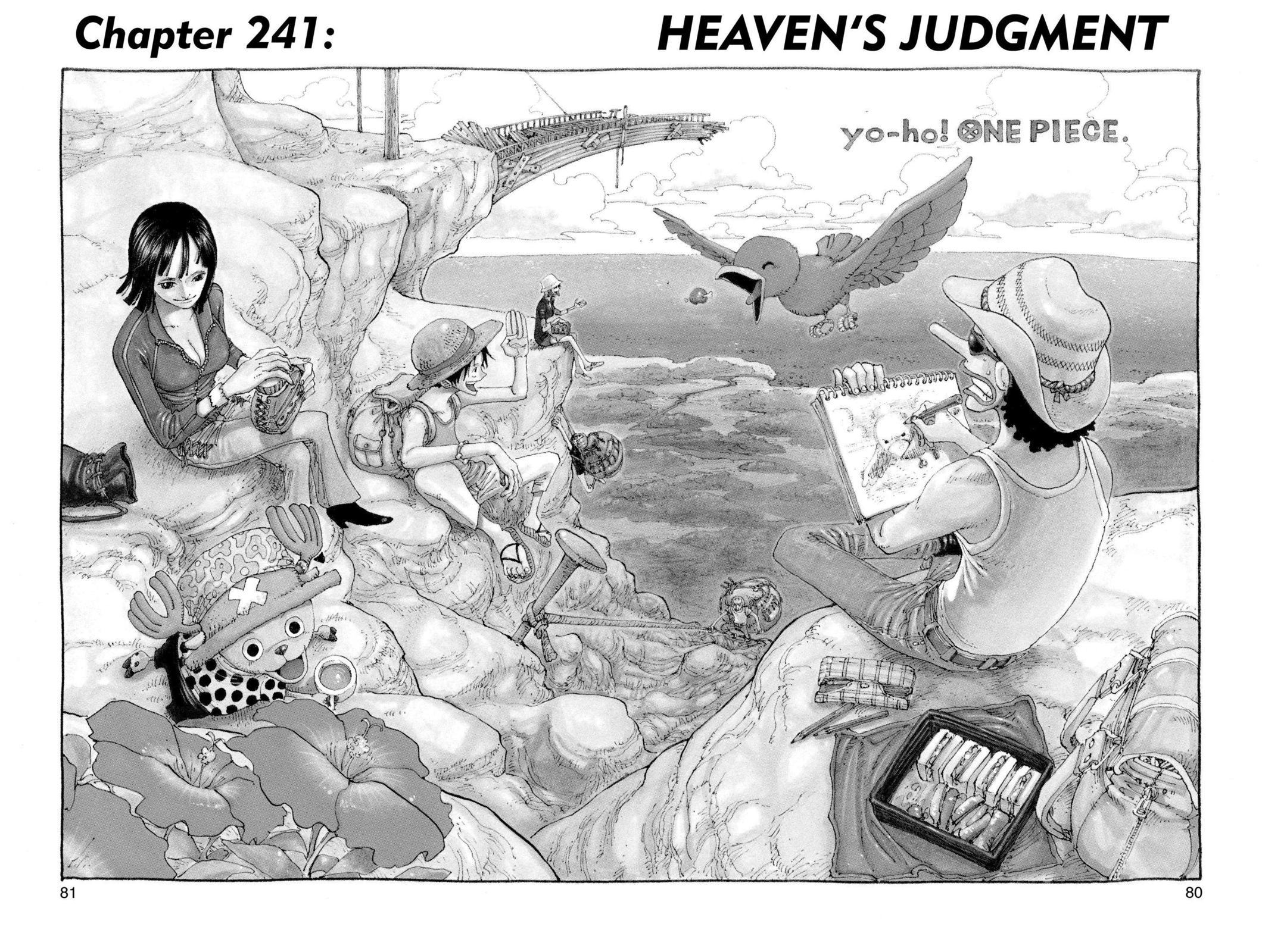 One Piece, Chapter 241 image 001