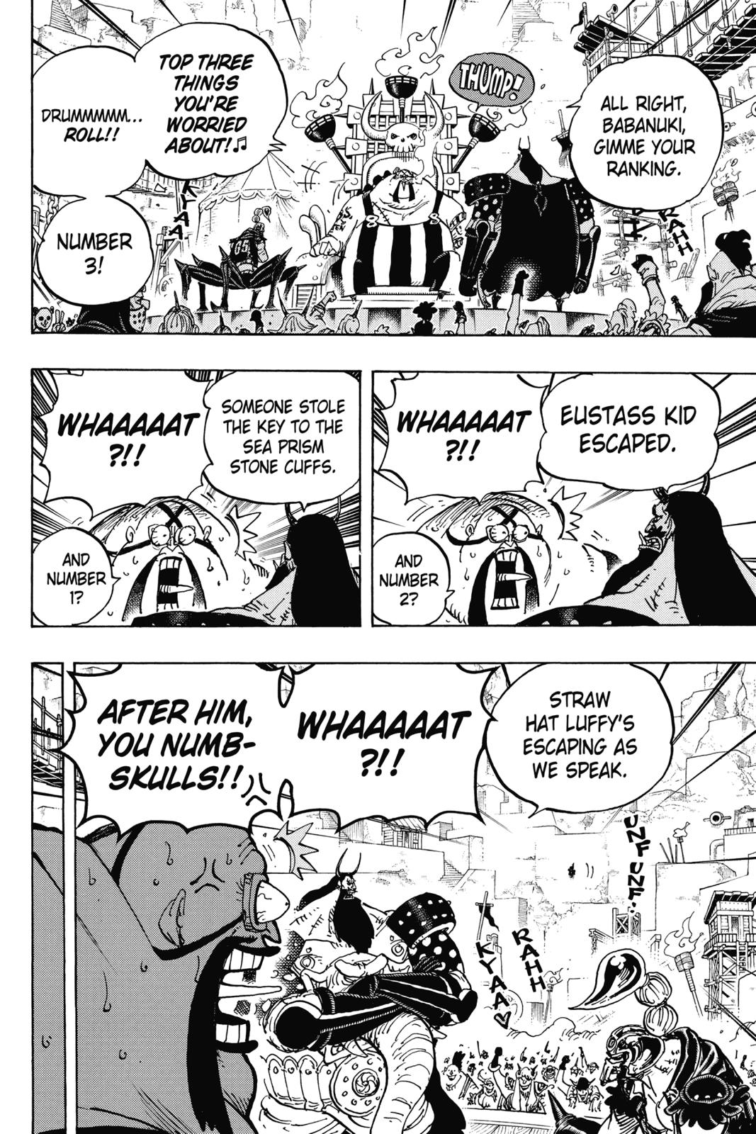 One Piece, Chapter 935 image 009