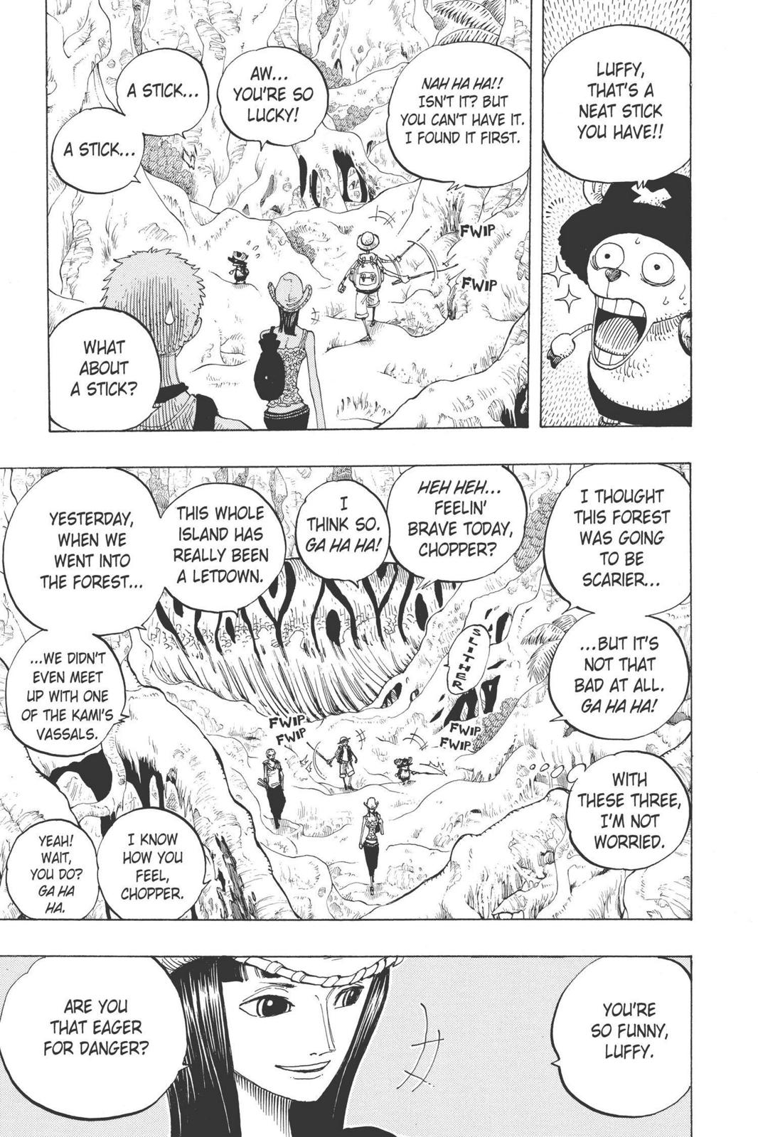 One Piece, Chapter 255 image 003