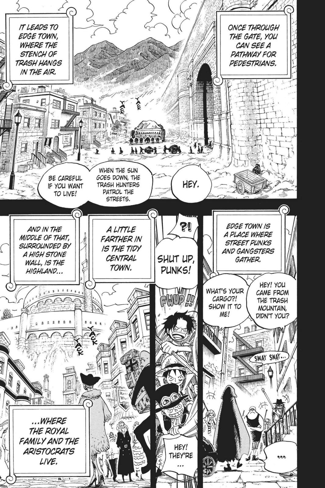 One Piece, Chapter 585 image 011